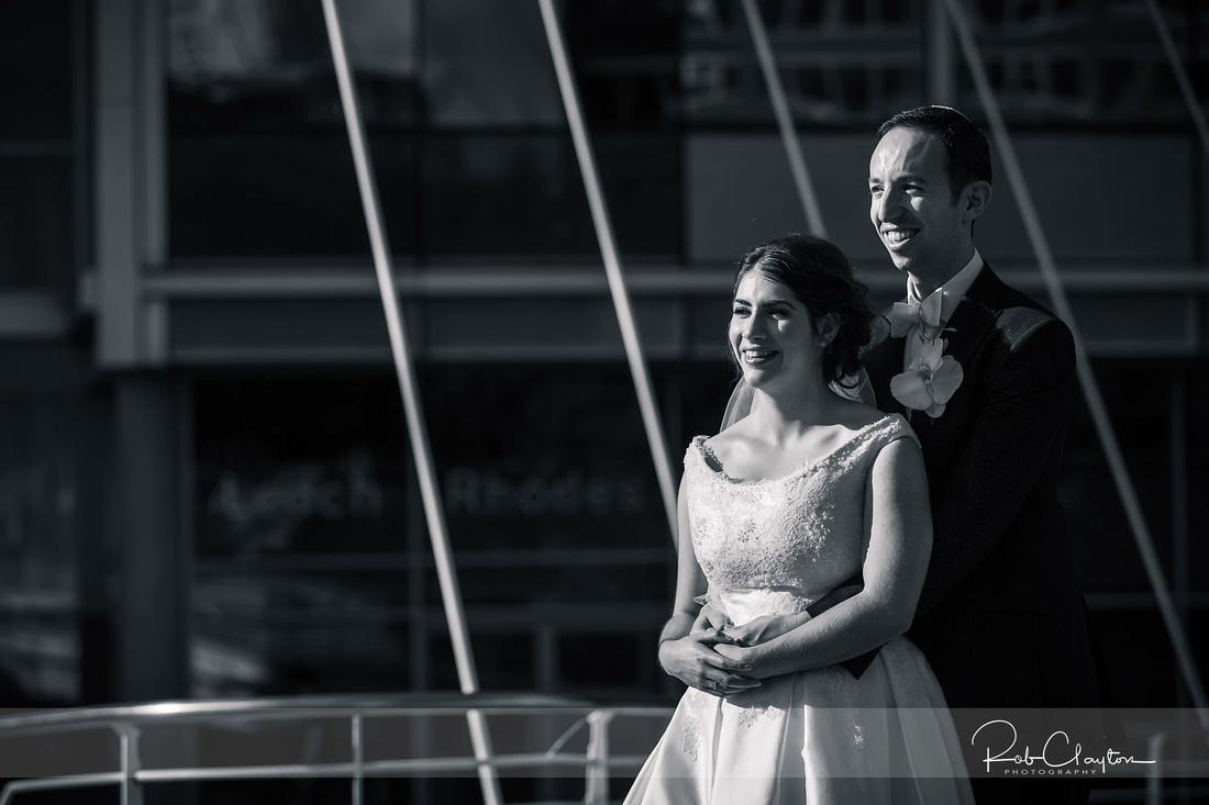 Lowry Hotel Manchester Wedding Photographer - Michaela & Rob Blog 34