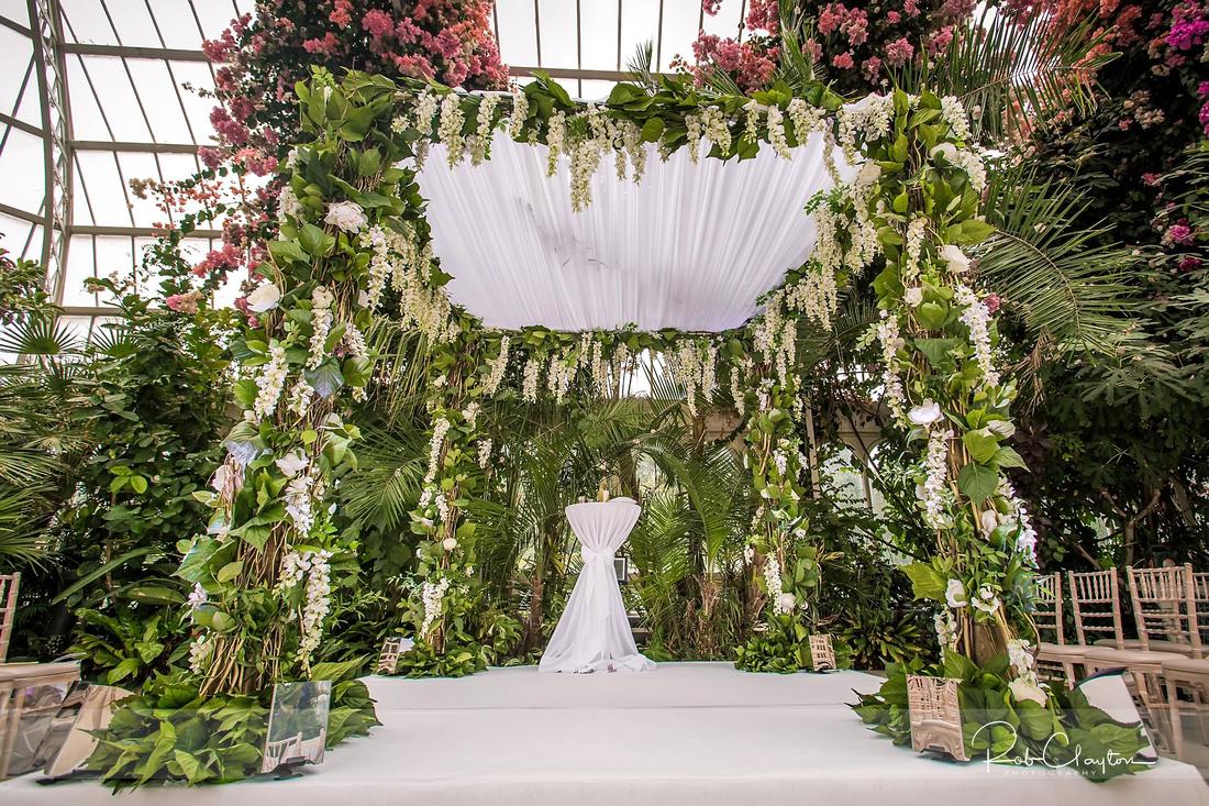 Sefton Palm House Wedding Photography - H&J 016