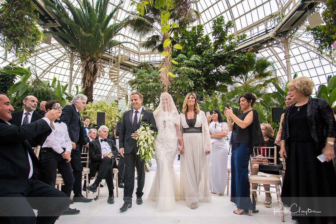 Sefton Palm House Wedding Photography - H&J 035