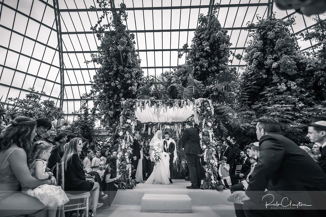 Sefton Palm House Wedding Photography - H&J 036
