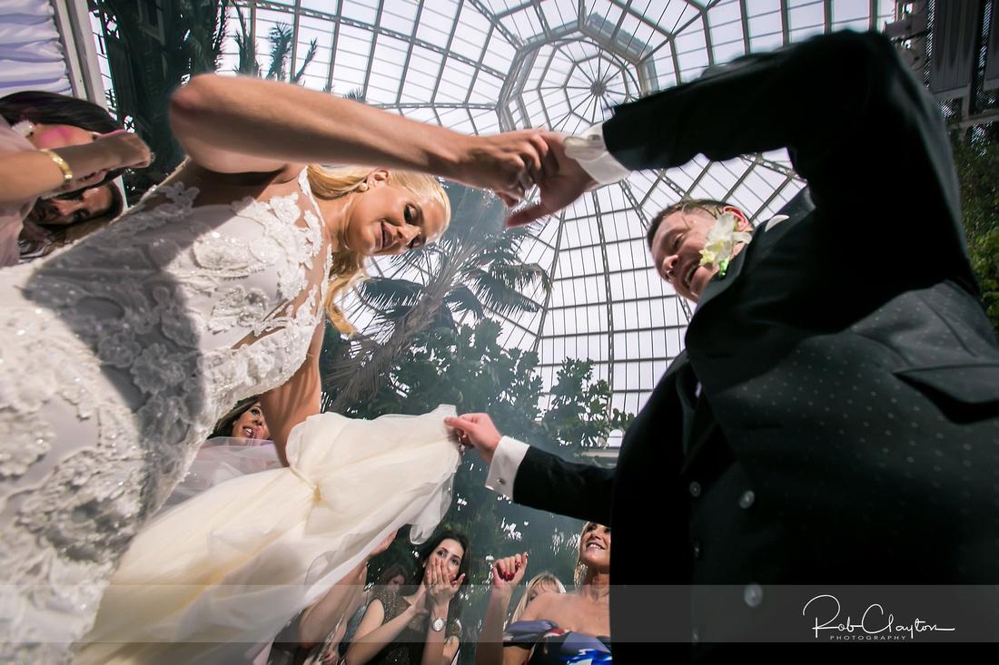 Sefton Palm House Wedding Photography - H&J 070