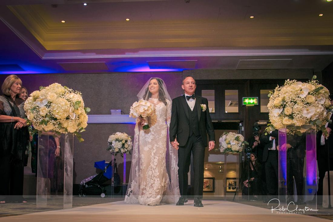 Midland Hotel Manchester Jewish Wedding Photography 17