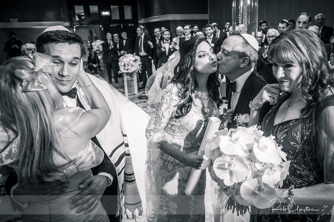 Midland Hotel Manchester Jewish Wedding Photography 25