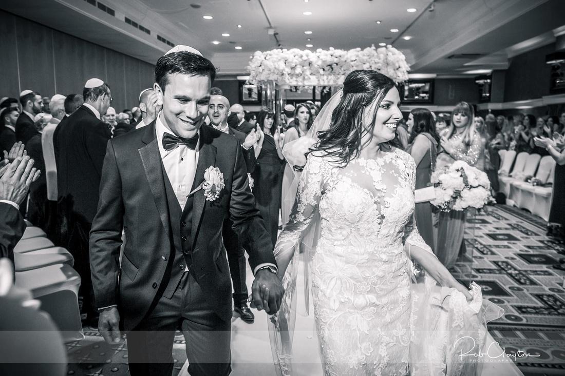 Midland Hotel Manchester Jewish Wedding Photography 26