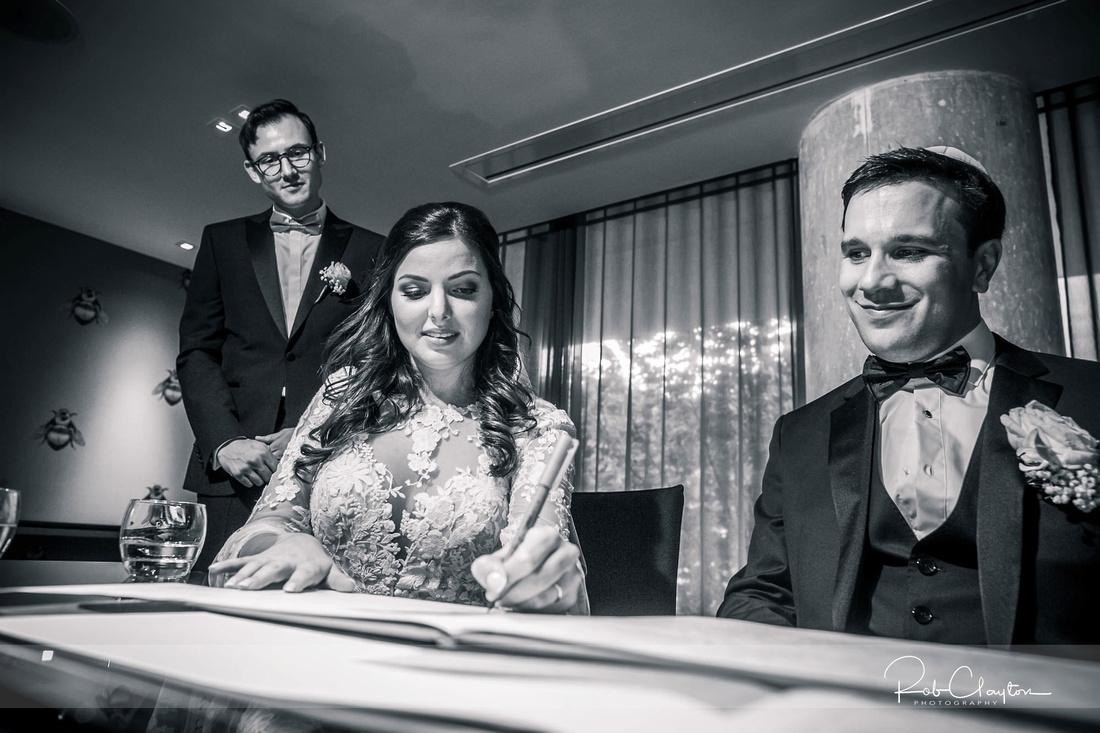 Midland Hotel Manchester Jewish Wedding Photography 29