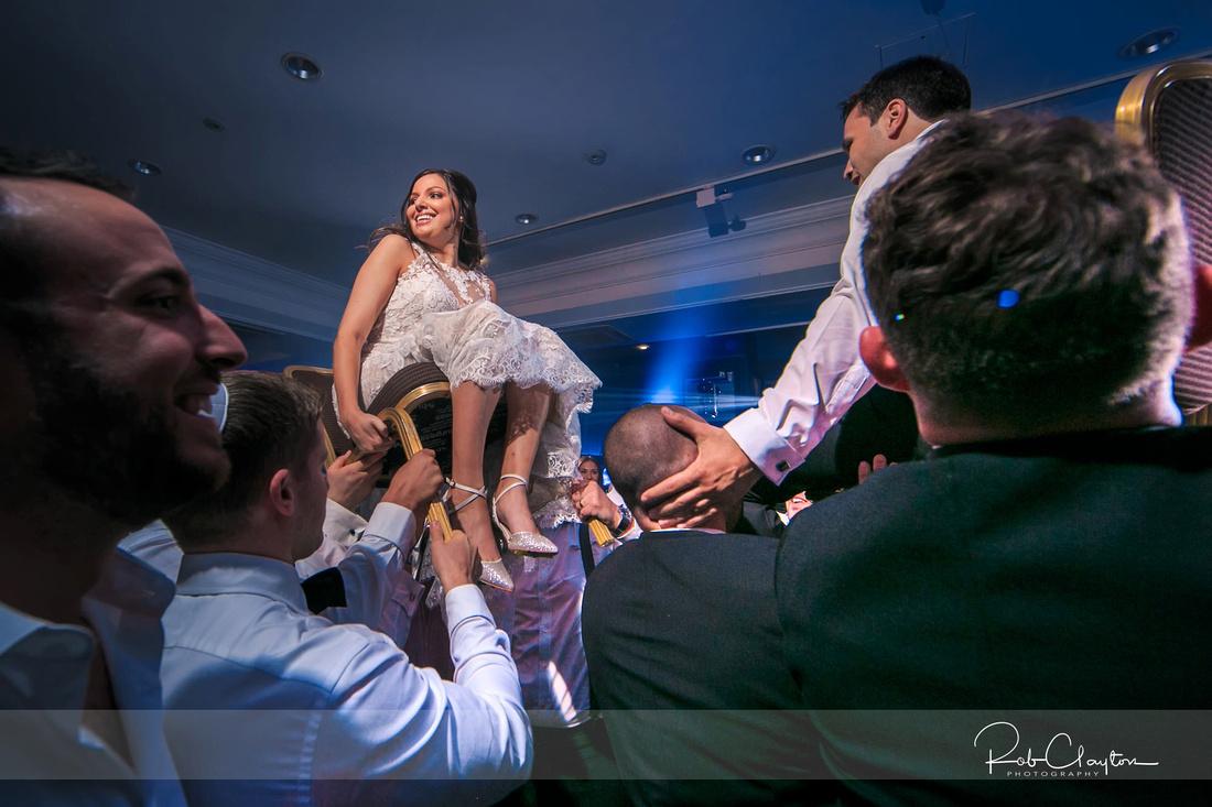 Midland Hotel Manchester Jewish Wedding Photography 37