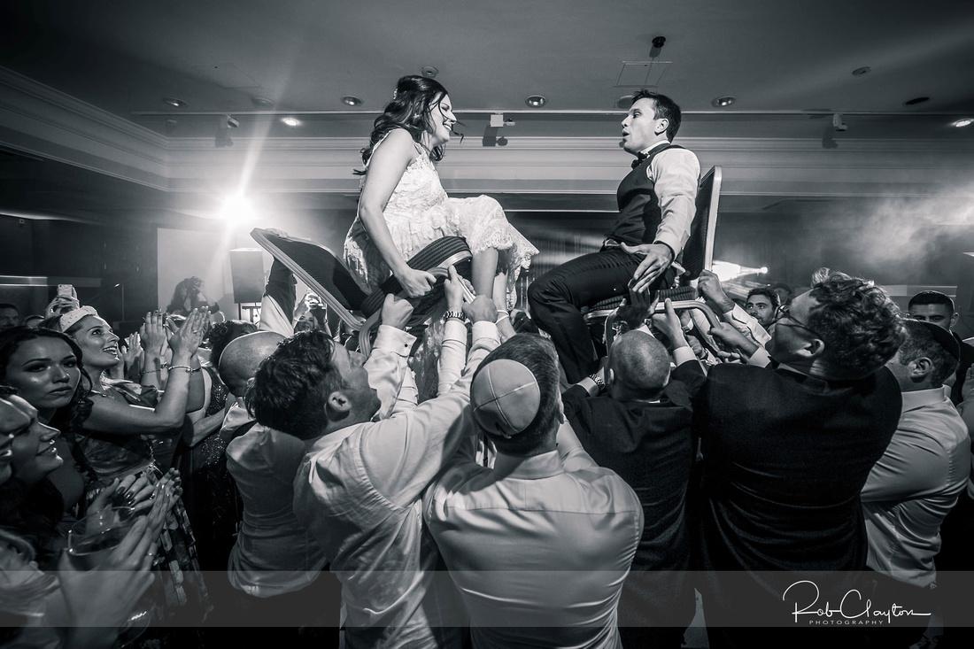 Midland Hotel Manchester Jewish Wedding Photography 38