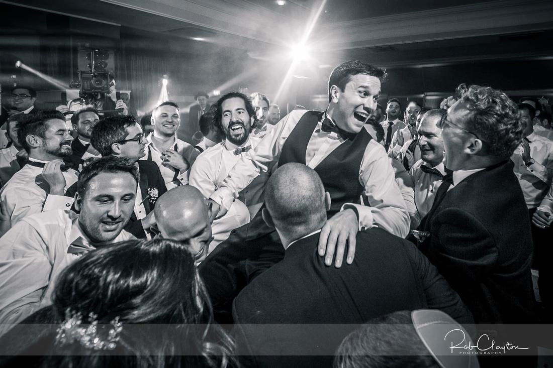 Midland Hotel Manchester Jewish Wedding Photography 39