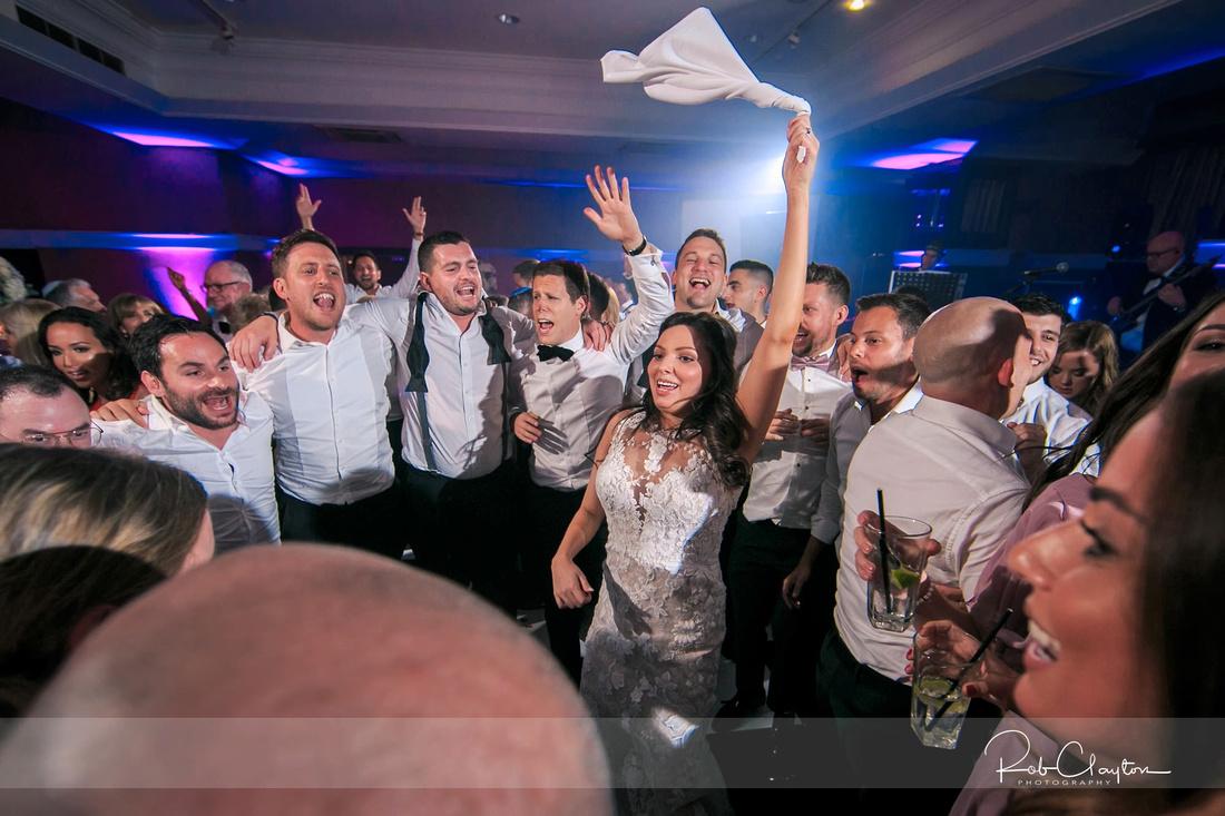 Midland Hotel Manchester Jewish Wedding Photography 62