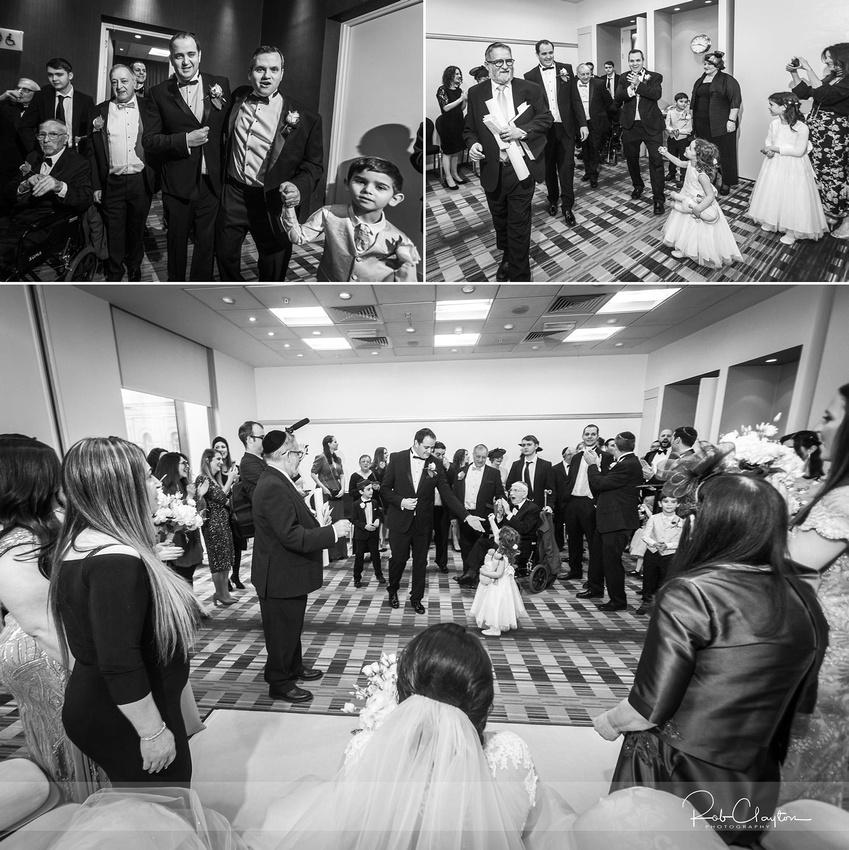 Mintz-Willman Wedding - Hilton Hotel, Manchester 048